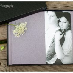 Family photo albums by Camomint Photography